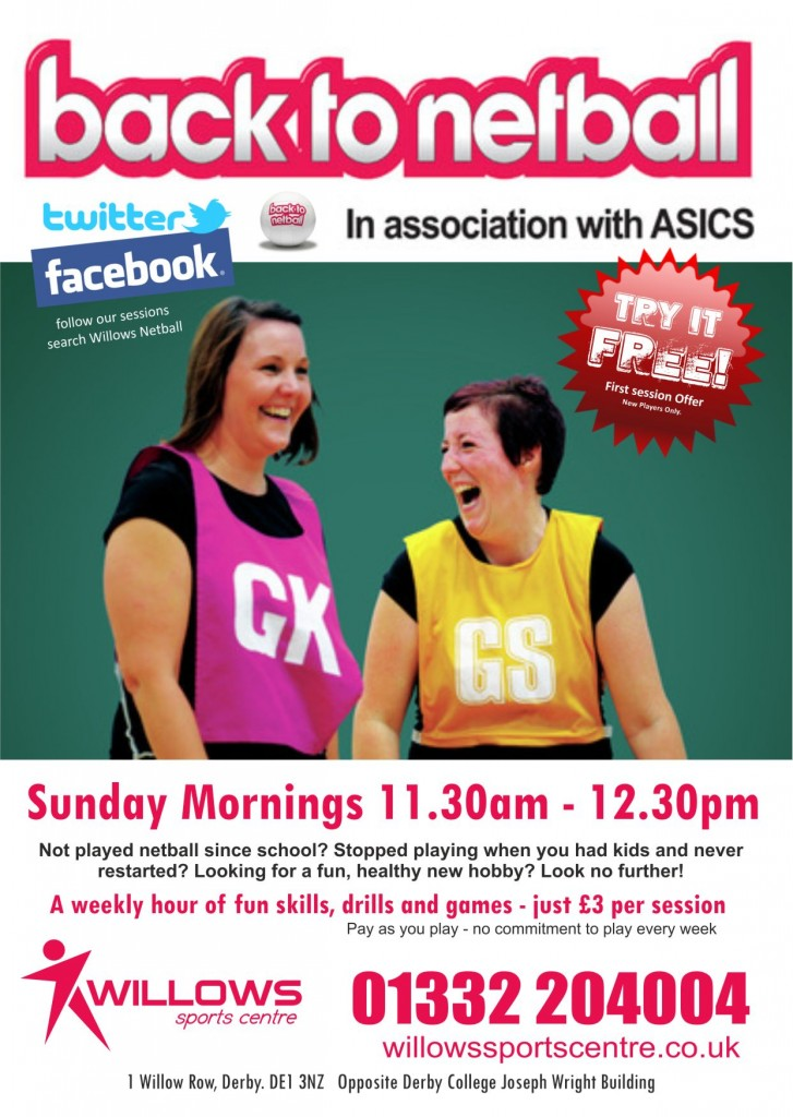 Back to Netball Poster_Flyer