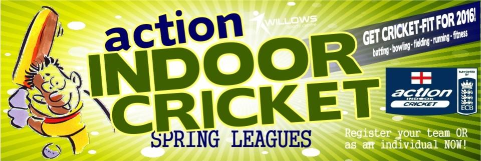 Action Cricket Spring Web Banner